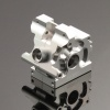Getriebegehäuse (Differential) Aluminium Silber - Alloy Gearbox Assembly - Savage XS