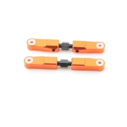 Oberer Querlenkersatz Aluminium Orange - Billet Machined Upper Arm - Savage XS