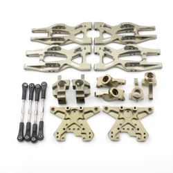 Aufhängungs- / Fahrwerks-Set - Aluminium Gun - Billet Machined Suspension Kit - HPI Bullet