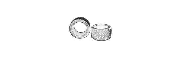 Reifen - Groß (für 115x70mm Felgen)