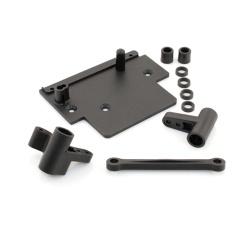 Lenkgestänge / Lenkungsarme / Regler Platte Set (Flux)