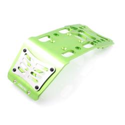HD Skid Plate Aluminium Grün - HD Skid Plate