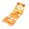 HD Skid Plate Aluminium Orange - HD Skid Plate