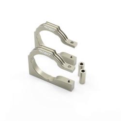 Motorhalter Platte Aluminium Gun - Billet Machined Motor Mount Plate (Savage Flux)