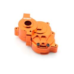 Mittleres Getriebegehäuse / Getriebebox - Aluminium Orange - Billet Machined Center Gearbox - Savage XS