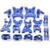 Aufhängungs- / Fahrwerks-Set - Aluminium Blau -...