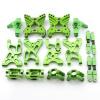 Aufhängungs- / Fahrwerks-Set - Aluminium Grün -...