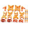 Aufhängungs- / Fahrwerks-Set - Aluminium Orange -...
