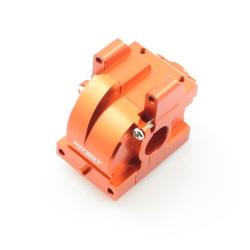 Getriebegehäuse (Differential) Aluminium Orange - Billet Machined Gearbox - HPI Bullet