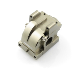 Getriebegehäuse (Differential) Aluminium Gun - Billet Machined Gearbox - HPI Bullet