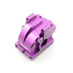 Getriebegehäuse (Differential) Aluminium Lila - Billet Machined Gearbox - HPI Bullet