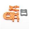 Hauptmotorhalter / Getriebehalter Flux - Aluminium Orange...