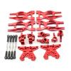 Aufhängungs- / Fahrwerks-Set - Aluminium Rot - Billet Machined Suspension Kit - HPI Bullet