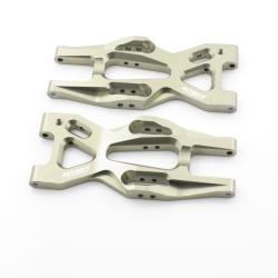 Unterer Querlenkersatz Hinten - Aluminium Gun - Billet Machined Rear Lower Arm - HPI Bullet