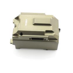 RC-Box / Elektronik Box Satz X - Aluminium Gun - Billet Machined Radio Box