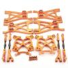 Aufhängungs- / Fahrwerks-Set Aluminium Orange -...