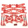 Aufhängungs- / Fahrwerks-Set Aluminium Rot -...