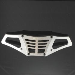HD Rammer / Stossfänger Aluminium Silber - HD Rear Bumper