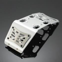 HD Skid Plate Aluminium Silber - HD Skid Plate