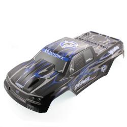 Savage Flux GT-2 Karosserie (schwarz / blau / grau - lackiert)