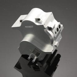 Mittleres Getriebegehäuse (2-Gang / 3-Gang) - Aluminium Silber - Alloy Center Gearbox