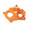 Motorplatte - Aluminium Orange - Billet Machined Alloy...