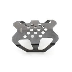 Center Skid Plate Stahl - Schwarz