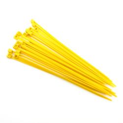 Kabelbinder (20x) 140x3,5mm (gelb)
