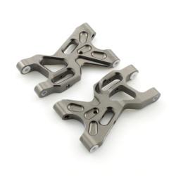 Unterer Querlenkersatz Aluminium Grau - Billet Machined Lower Arm - Savage XS