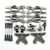 Aufhängungs- / Fahrwerks-Set - Aluminium Grau -...