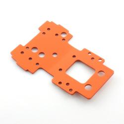 Untere Gehäuseplatte / Untere Bulkhead Platte 2.5mm (Orange)