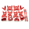 Aufhängungs- / Fahrwerks-Set - Aluminium Rot -...