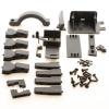 Akkubox Halter / Abdeckung Set (Flux bis Modell 2012)