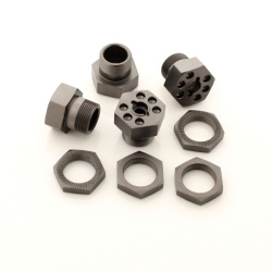 Sechskant Felgenmitnehmer 24mm Set (Aluminium)