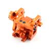 Getriebegehäuse (Differential) Aluminium Orange -...