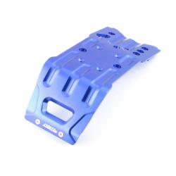 Skid Plate Aluminium Blau - Billet Machined T2 Skid Plate
