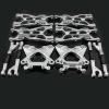 Aufhängungs- / Fahrwerks-Set Aluminium Silber -...